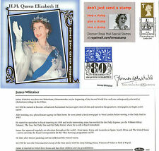2006 QUEEN 80th BIRTHDAY HAND SIGNED JAMES WHITAKER BENHAM FIRST DAY COVER SHS