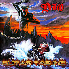 Dio Digital Guitar Tab HOLY DIVER Lessons on Disc Vivian Campbell Black Sabbath