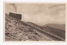 Snowdon, The Mountain Railway Postcard, A436