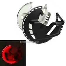 Brake Rotor Covers Red LED Ring Fit For Honda Goldwing GL1800 01-17 F6B 13-17