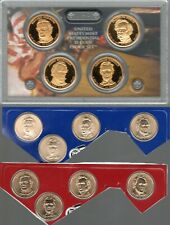 2010 P-D-S PRESIDENTIAL DOLLAR Proofs & P D Satin Finish from US Mint 12 Coins