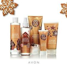 AVON GINGER BREAD & CAPPUCCINO VARIOUS ITEMS NEW