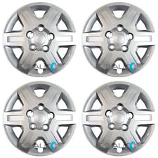 """4 NEW 16"""" Silver Bolt On Hubcaps Rim Wheel Covers for 2008-2016 Caravan Journey"""