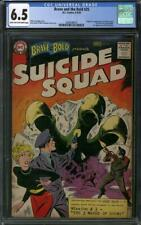 Brave and the Bold #25 CGC 6.5 (LT-OW) Origin & 1st appearance of Suicide Squad