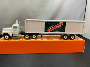 Winross Hammond's Pretzels Tractor Truck & Trailer 1/64 Scale Diecast With Box