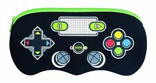 Helix Controller Pencil Case - Black Zipped School Stationery Item Great Price