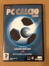 PC CALCIO 2005 La Gazzetta dello Sport Power Up LEADER PC CD ROM ITALIANO