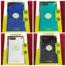 NEW Apple iPhone 7+ Plus, 8+ Plus Only OEM PureGear Slim Shell Case - 4 Colors