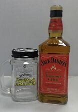 JACK DANIEL'S TENNESSEE FIRE 0,7 L   mit  LYNCHBURG LEMONADE GLAS