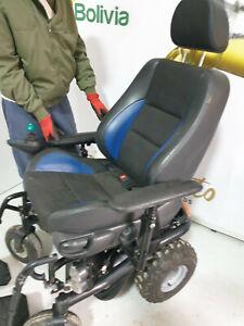 "off road powerchair Sunrise F55 based 6"" wide rear wheels Recaro style seat"