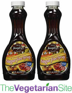 2-PACK - FREE PRIORITY MAIL - Joseph's Sugar Free Maple Syrup - CLASSIC VERSION