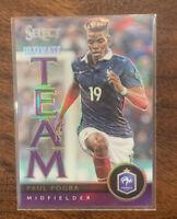Paul Pogba 2015-16 Panini Select Purple Prizm Variation 98/99 France Team