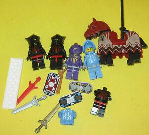 Lego Castle Knights Kingdom II minifigure lot