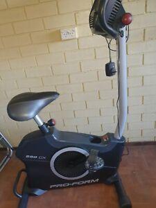 PRO - FORM 250CX exercise bike .