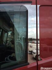 To Fit Volvo FH4 2013+ Globetrotter Door Pillar Post Chrome Decoration Trim