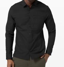 Lululemon Masons Peak Long Sleeve Shirt Size Small Black $118 NWT