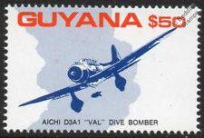 IJN AICHI D3A1 VAL Torpedo Dive Bomber WWII Pearl Harbor Aircraft Stamp