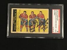 MARSHALL, RICHARD, MOORE 1960-61 PARKHURST SIGNED AUTOGRAPHED CARD #94 SGC AUTH