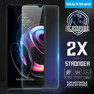 For Motorola Edge 20 Pro Fusion 5G Full Cover Tempered Glass Screen Protector