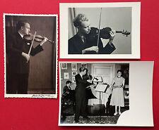 3 x Foto AK Leipzig DRESDEN Musiker Ingolf Brinkmann in jüngeren Jahren ( 8617
