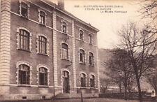 ALLEVARD 1985 école de garçon musée rambaud