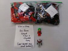 Lego Sets 7701 & 7702 Exo Force - 100% COMPLETE