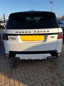 Range Rover Sport L494 2013-2018 HSE Dynamic Rear Bumper & Tailpipes