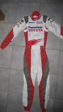 Panasonic Toyota F1 Genuino carrera en general, la fórmula uno Racesuit Alpinestars