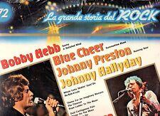 BOBBY HEBB BLUE CHEER JOHNNY HALLIDAY disco LP 33 GRANDE STORIA ROCK 72 SEALED
