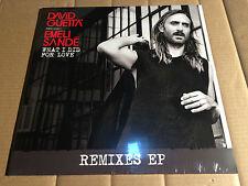DAVID GUETTA feat. EMELI SANDÉ - WHAT I DID FOR LOVE - REMIXES EP -  NEU / OVP