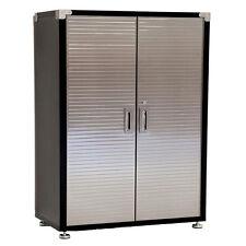 Seville HD 6ft Upright Cabinet x 4ft Super Wide, Heavy Duty Garage Storage Steel