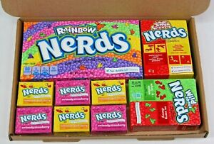 Wonka nerds American sweets gift box - USA Retro Candy hamper gift box nerds