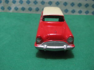 Vintage Tootsietoy - Buick Century Sw Two Tone - Chicago USA 1956