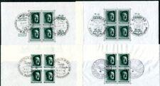 DR 1937 BLOCK7-9,11 gestempelt TADELLOS 196€(I1655