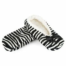 Indoor Slippers with Gripper Sole, Animal Pattern