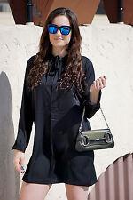 Polo Ralph Lauren Women Black Shift Dress Size 8