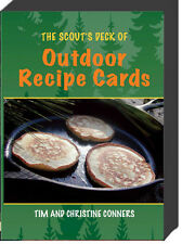 The Scout's Deck of Outdoor Recipe Cards (box) by Tim and Christine Conners NEW