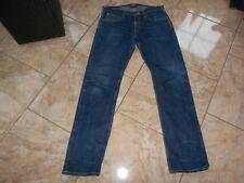 H4802 Lee ZED Turn Up Jeans W34 L34 Dunkelblau  Sehr gut