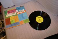 1967 Jungle Book Soundtrack LP Walt Disney Buena Vista Records EX In Shrink!