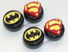 2D Batman Superman Black Contact Lens Case Pocket Size Storage Holder Container