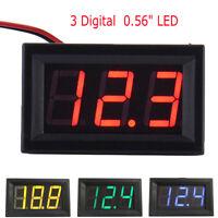 DC Voltmeter 0.56''LED Digital Volt Meter Gauge Battery Charge Indicator Tester