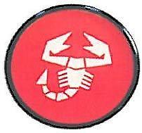 Set 4 Coprimozzi Coppette Borchie Fiat Abarth 47mm  3509192