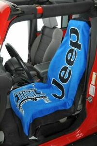 Seat Armour with Jeep Logo & Jeep Seat Protector Towel-You Pick Your Color!!