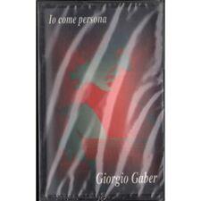 Giorgio Gaber MC7 Io Come Persona / Carosello Sigillata 8012842410543