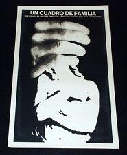 """1976 Original Movie Poster""""Family Picture""""Polish Poland Krzysztof Zanussi art"""