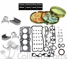 FITS: 02-06 NISSAN ALTIMA SENTRA 2.5L DOHC QR25DE *METAL* ENGINE RE-RING KIT