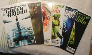Green Arrow 6 Book Lot-Year One (2007) #1/2/3/4/5/6  9.4+ DC!!