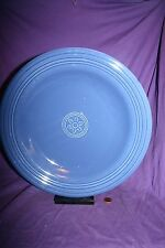 "Oneida Petals Cobalt blue China Chop Plate 12 1/2"""