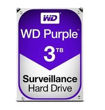 """Western digital HARD DISK PURPLE 3 TB SATA 3 3.5"""" (WD30PURZ) (0000036477)"""