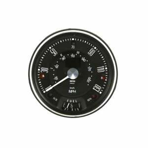 Smiths Classic Mini 130 MPH Black Digital Speedometer